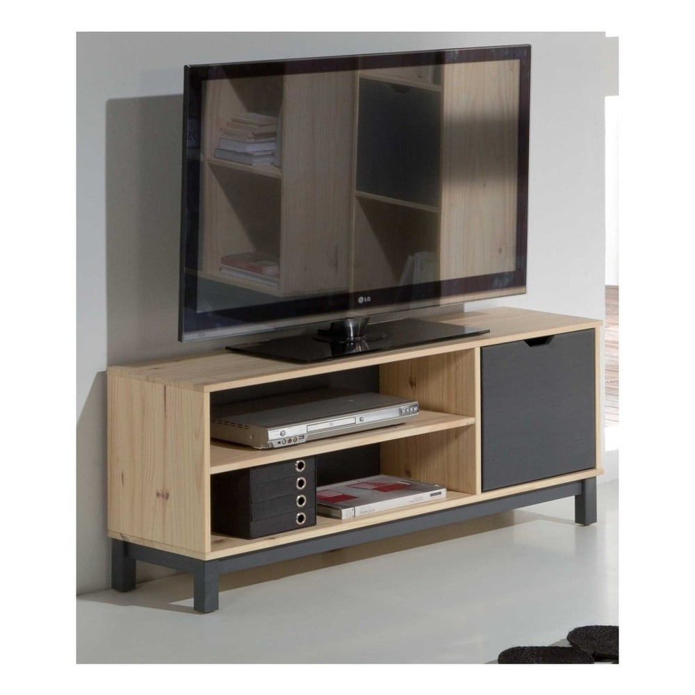 TV stolek z borovicového dřeva SOB Linny