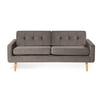 Canapea cu 3 locuri Vivonita Ina Trend, gri de la Vivonita