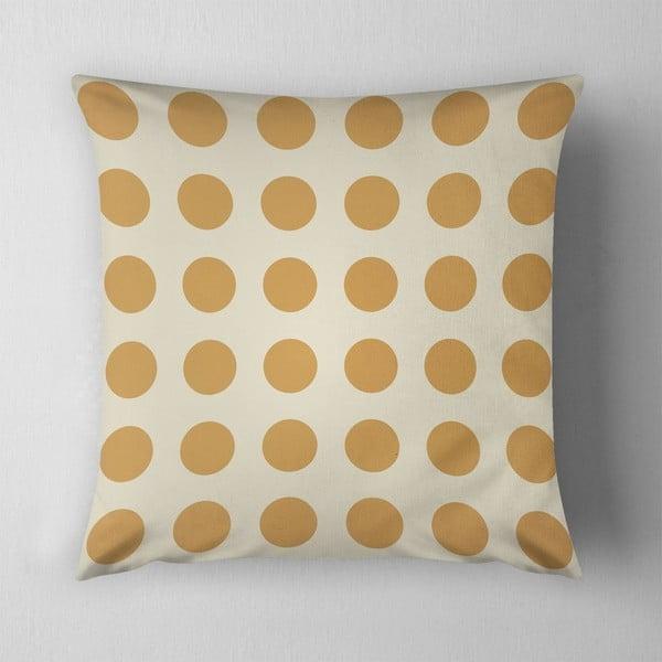 Polštář Big Yellow Dots, 43x43 cm