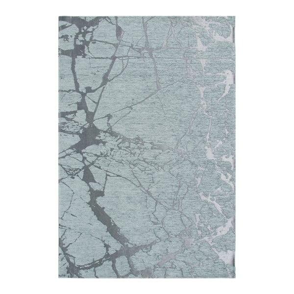 Světle modrý koberec Twigs, 160x230cm
