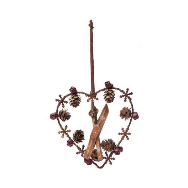 Decorațiune suspendată Antic Line Heart Ornament
