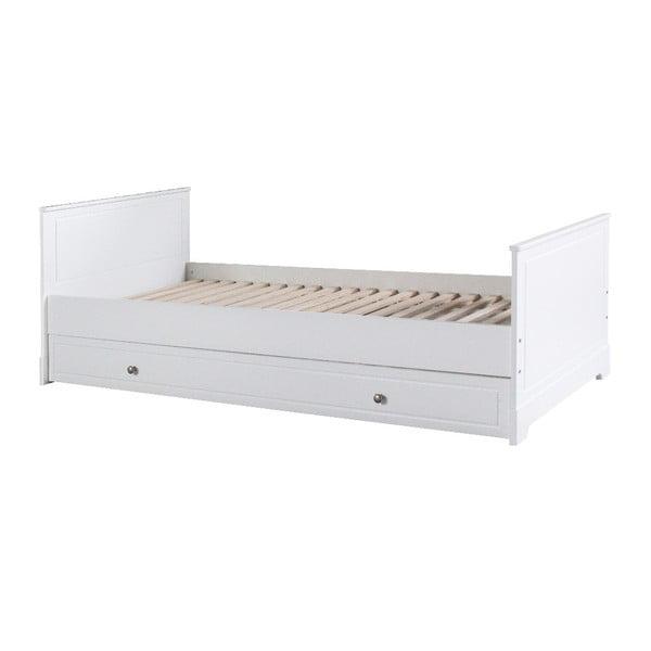 Białe łóżko dziecięce BELLAMY Marylou, 90x200 cm