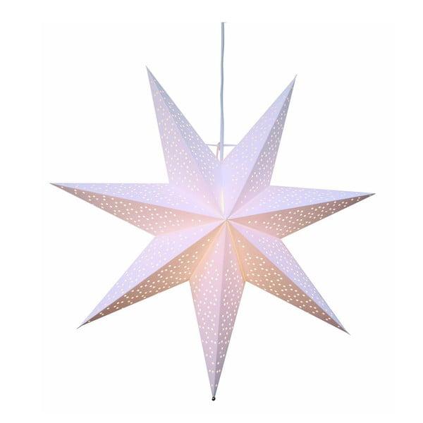 Bílá světelná dekorace Best Season Dot, ⌀ 54 cm