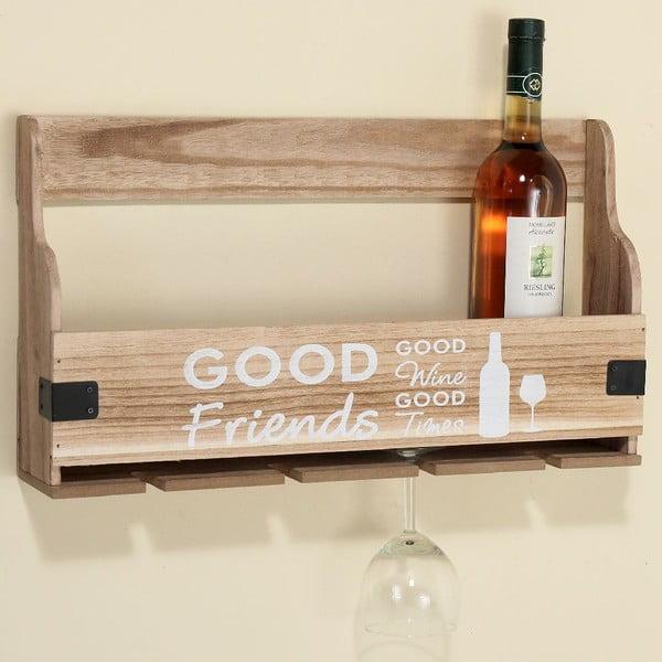 Police na víno Pinot Wood