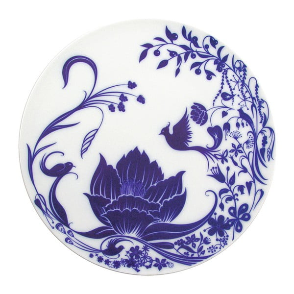 Sada 2 servírovacích talířů Lotus Flower