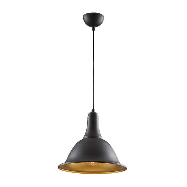 Stropní světlo In Cone Black/Gold