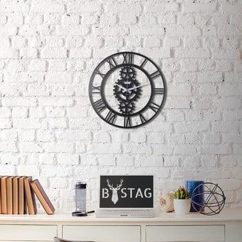 Ceas din metal pentru perete Industrial, 50 x 50 cm de la Unknown