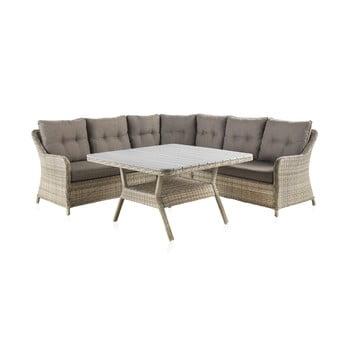 Set mobilier de grădină cu masă Geese Alessia imagine