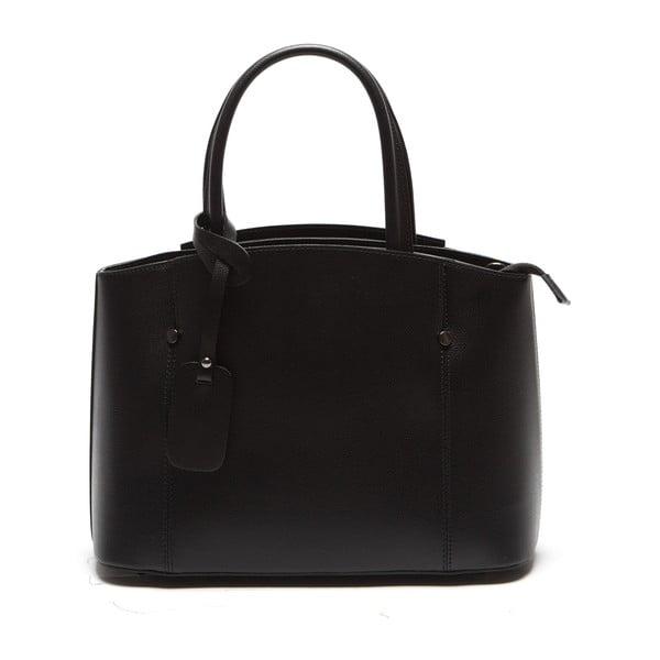 Černá kožená kabelka Sofia Cardoni Irene