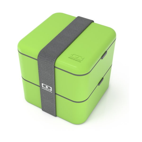 Cutie pentru alimente Monbento Square, verde