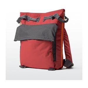 Plážová taška/batoh Tane Kopu 40 l, korálová