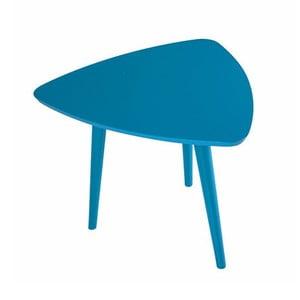 Modrý příruční stolek Durbas Style Trio