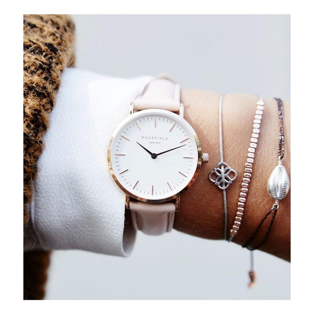 ... Růžové dámské hodinky Rosefield The Tribeca ... 8ce4489d0d3