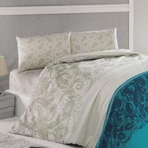 Povlečení Luxury Time Blue, 240x220 cm