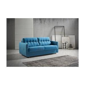 Modrá rozkládací pohovka Suinta Como, šířka 170 cm