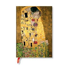 Agendă Paperblanks Klimt´s Portrait of Kiss, 13 x 18 cm
