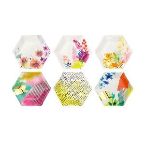 Sada 6 papírových talířů Talking Tables Fantastic Summer