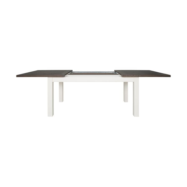 Bílý rozkládací jídelní stůl Canett Skagen Coffee, 76x90cm