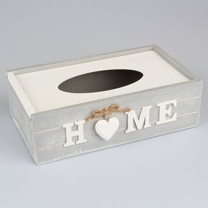 Box na kapesníky Country Home Light Grey