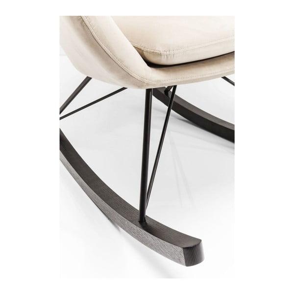 Bílé houpací křeslo ušák Kare Design Oslo