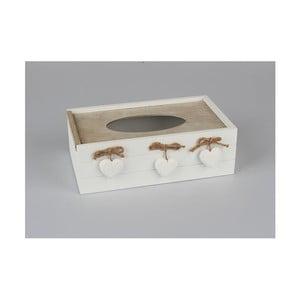 Dřevěný úložný box na kapesníky Dakls Rusto Mezzo
