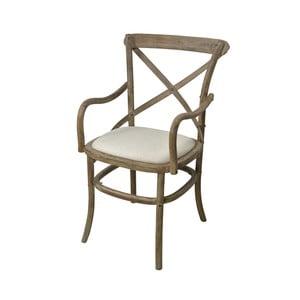 Jídelní židle z topolového dřeva s područkami Livin Hill Limena