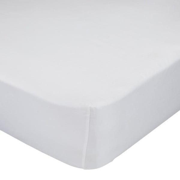 Bílé prostěradlo Moshi Moshi Little W, 90 x 200cm