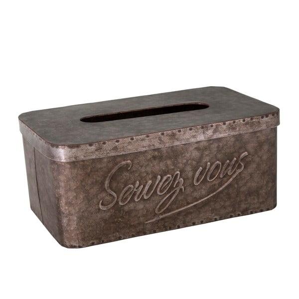 Kovový dávkovač papírových kapesníků Antic Line Papier