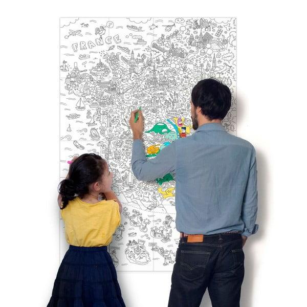 Omalovánka OMY France (70 x 100 cm)