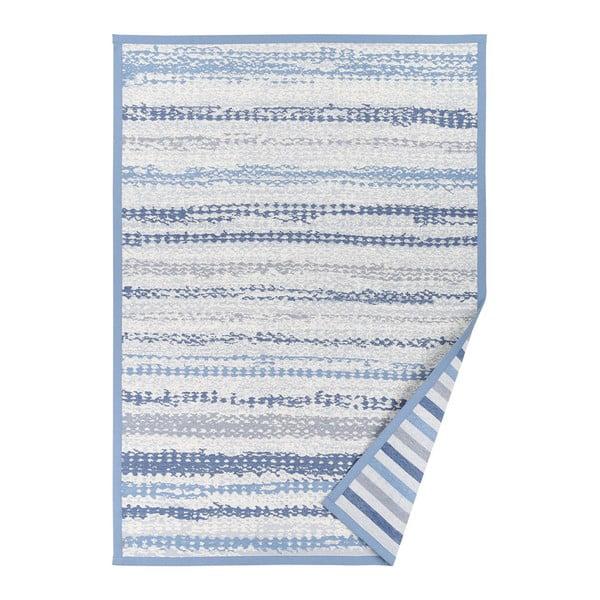 Niebieski dywan dwustronny Narma Saara, 70x140 cm