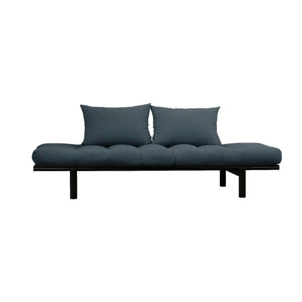 Canapea Karup Design Pace Black, albastru petrol