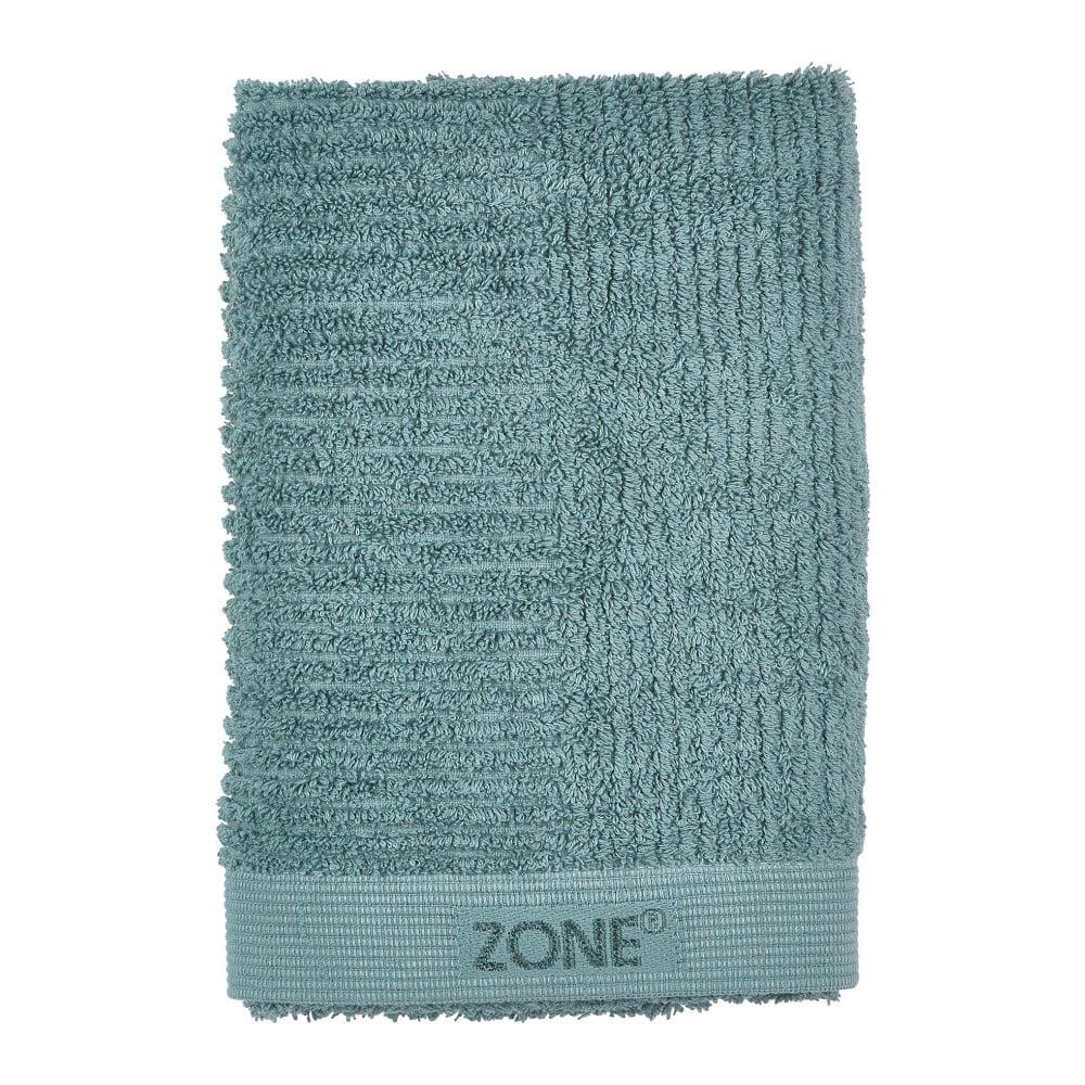 Fotografie Petrolejově zelený ručník Zone Classic, 50x70cm