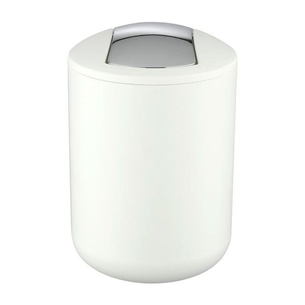 Biały kosz na śmieci Wenko Brasil, 21 cm
