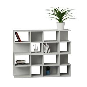 Knihovna Aaron 108 cm, bílá