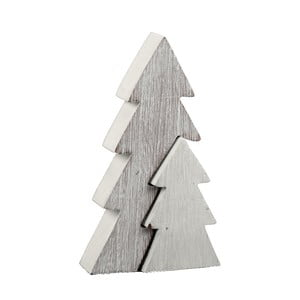 Dřevěná dekorace ve tvaru stromečku Ego Dekor Tree, výška15cm