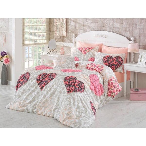 Povlečení Love Pink, 200x220 cm