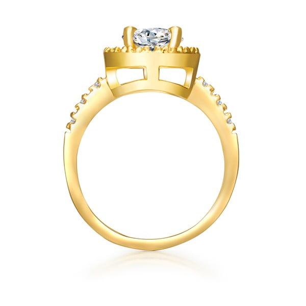 Dámský prsten zlaté barvy Tassioni Bride, 56