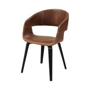 Hnědá jídelní židle Interstil Nova