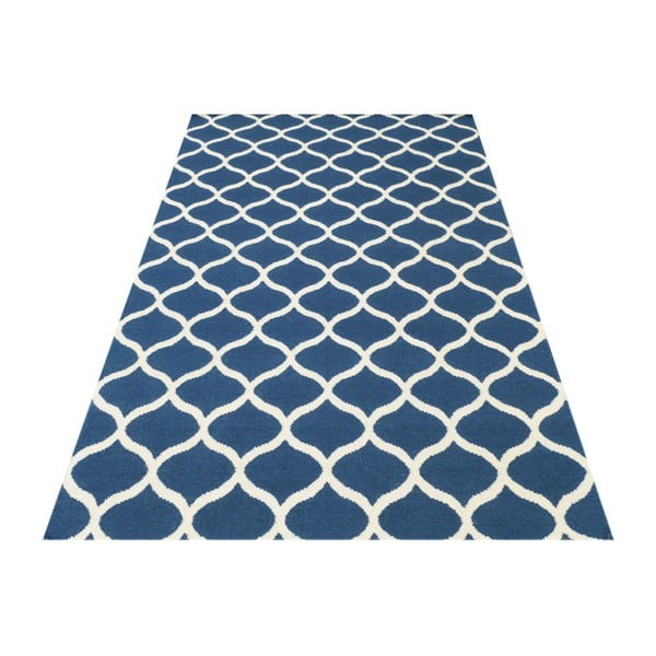 Ručně tkaný koberec Alize Blue, 155x240 cm