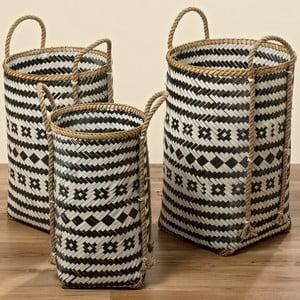 Set 3 coșuri din bambus Boltze Zulo