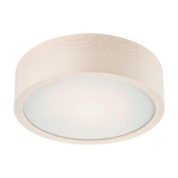 Bílé kruhové stropní svítodlo Lamkur Plafond, ø 27 cm
