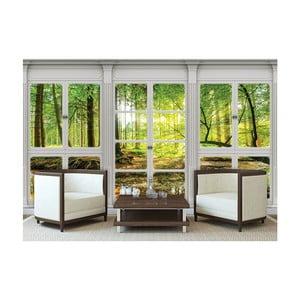 Velkoformátová nástěnná tapeta Vavex Windows View, 416 x 254 cm