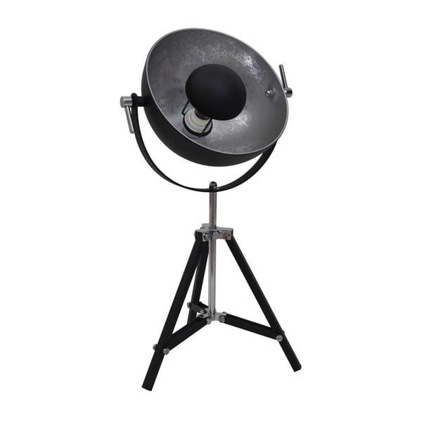 Stojací lampa Fortuanate Black/silver