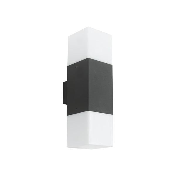 Venkovní nástěnné světlo Hudson Antracit, 33 cm