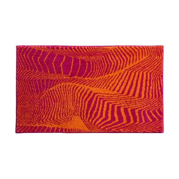 Koupelnová předložka Kolor My World XIII 60x100 cm, pomerančová