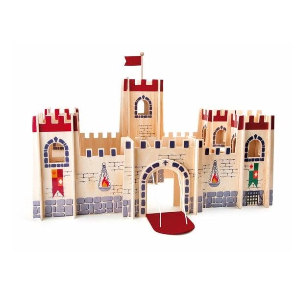 Drewniany zamek dla dzieci Legler Knight