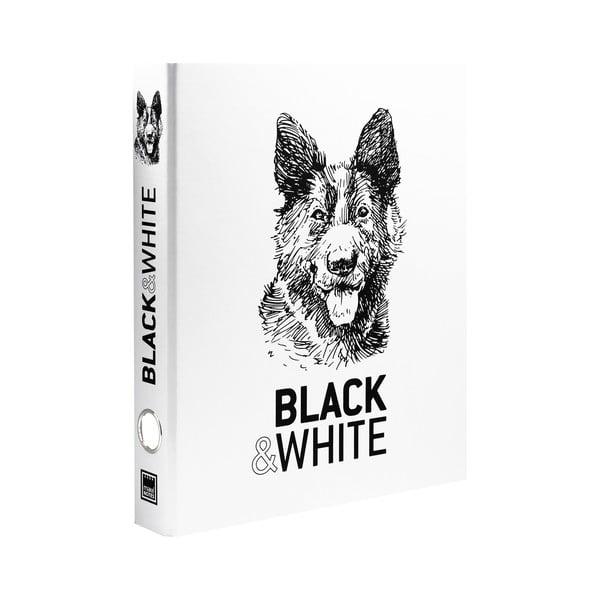 Notes kołowy Makenotes Hound Black & White