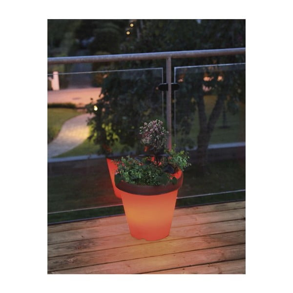 Svítící zahradní květináč System