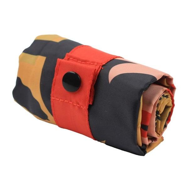 Oboustranná skládací nákupní taška s kapsičkou LOQI Snake