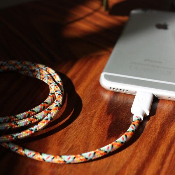 Nabíjecí kabel Lightning pro iPhone 5 a iPhone 6 Fantasy, 1,5 m